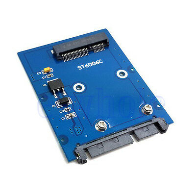 "Mini PCI-E mSATA SSD de 2.5 ""SATA 3.0 PCBA 22pin HDD Disco duro Adaptador DB"