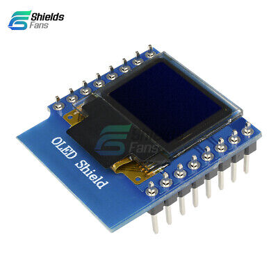 """mini 0.66"""" inch 64X48 OLED Shield for WeMos D1 IIC I2C for Arduino Compatible"""