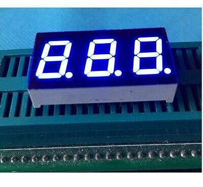 2PCS  0.28 inch 4 digit led display 7 seg segment Common anode Blue
