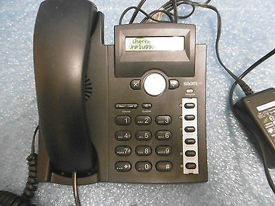 SNOM 300 Telefon SIP Voice over IP VoIP PoE Headsetanschluss