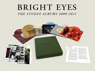 Bright Eyes - The Studio Albums 2000-2011 - 10 x Colour Vinyl LP Box Set *NEW*