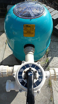 "Lacron Swimming Pool 16"" Hi-Rate Sand Filter"