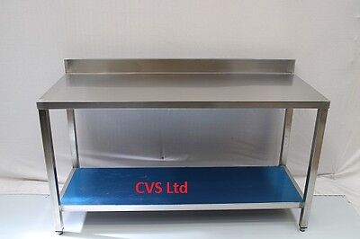 Kitchen Stainless Steel Work Prep Table 5Ft(1500mmx600MM) Brand New