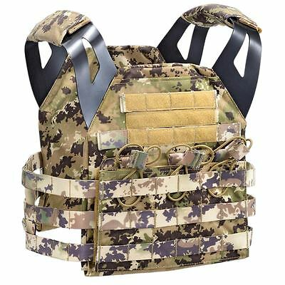 MOLLE Endurance Jumpable Airsoft Army Military Armour Plate Carrier Multiland