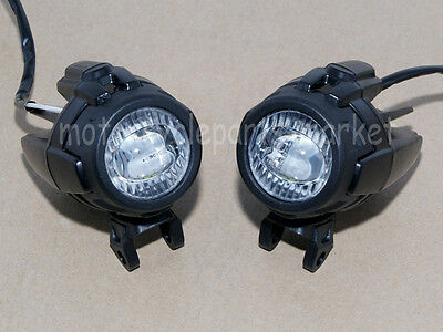 Pair of Motorcycle Headlight Fog Light Safety Lamp for BMW K1600 R1200GS ADV LED