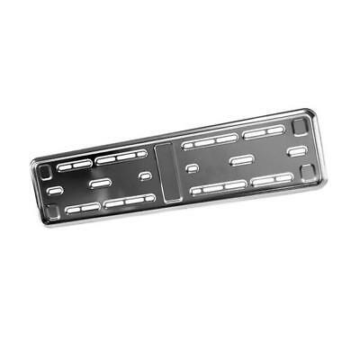 E-Tech Stainless Steel Number Plate Surround - Registration Plate Holder