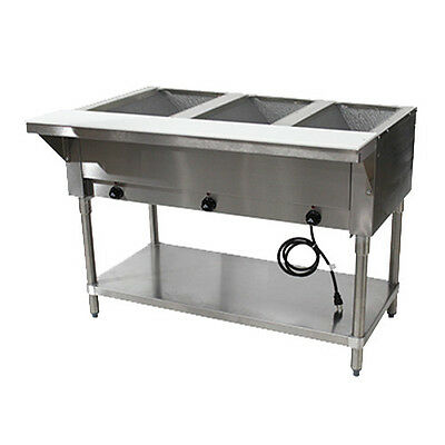 "Advance Tabco HF-3E-120 47"" Electric Hot Food Table"