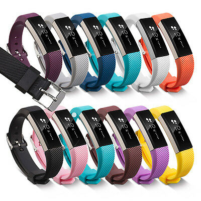 Fitbit Alta Band Secure Strap Wristband Buckle Bracelet Fitness Tracker