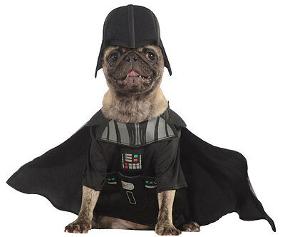 NEW size XS or S STAR WARS pet dog DARTH VADER Halloween costume PICK SIZE