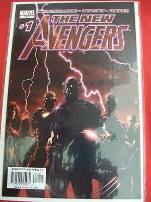 New Avengers 1-64 Marvel Comic Set Complete Civil War Brian Bendis Finch 2005 Nm