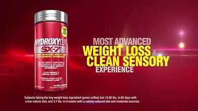 MuscleTech Hydroxycut SX-7 70/140 Caps Free Shipping Clearance Sale 2017 Exp