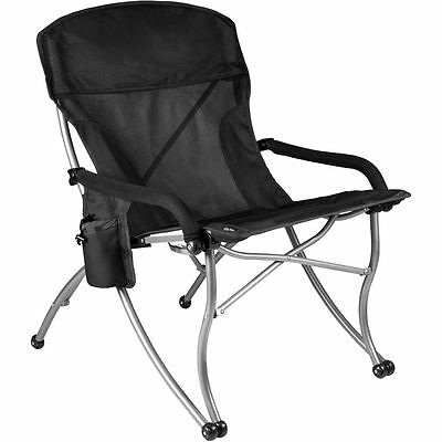 Picnic Time Polyester and Steel PT-XL Over-Sized Outdoor Folding Camp Chair