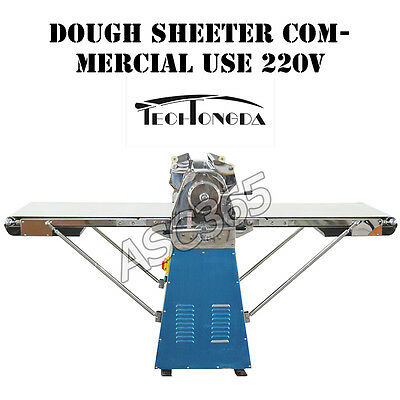 Brand New ! Commercial Vertical Dough Sheeter 220V Manufactured by Techtongda