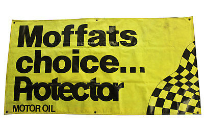 Large Moffats Choice Protector Banner Used Man Cave 98 x 193 cm