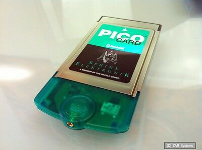 Pico Card Bluetooth PCMCIA Card/ Adapter for Notebook For Control and Technology