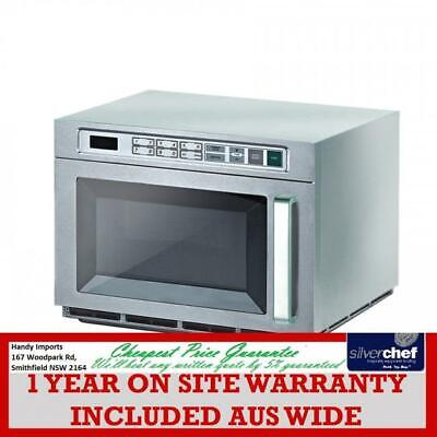 Fed Commercial 30L Microwave Oven 1800W Double Shelf & Capacity P180M30Asl-Yl