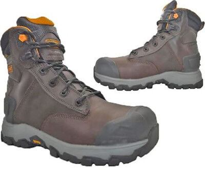 Mens Magnum Hamburg 6.0 Leather Waterproof Composite Toe Cap Work Safety Boots