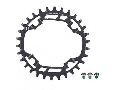 SRAM X-Sync 30T Narrow Wide Chainring 94mm BCD, Black, Steel, 11 Sp- X01, X1, GX
