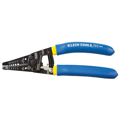 New Klein 11055 Klein-Kurve Wire Stripper/Cutter Blue w/ Yellow Stripe, 10 - 20g