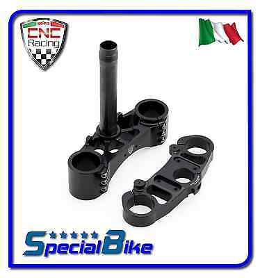Ducati Monster S4Rs 998 2006   2008 Set Piastre Sterzo Cnc Racing Triplo Clamp