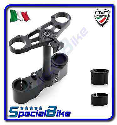 Ducati 1098 S 2007 > 2008 Set Piastre Sterzo Cnc Racing Ergal Offset Variabile
