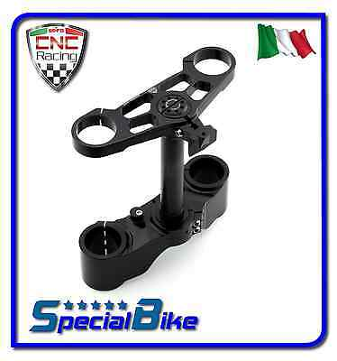 Ducati 1098 S 2007 > 2008 Set Piastre Di Sterzo Cnc Racing Ergal Triplo Clamp