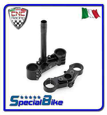 Ducati 899 Panigale 2014 > 2015 Set Piastre Sterzo Cnc Racing Ergal Triplo Clamp