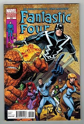 Fantastic Four #600 Variant Cover - 1/25 - Signed By Cover Artist Arthur Adams