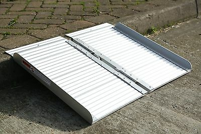 Portable Folding Ramp for Wheelchairs or Scooters 2ft Long