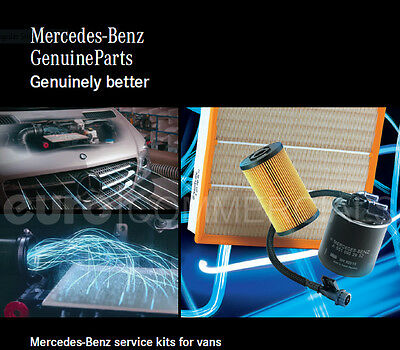 Genuine Mercedes Vito 639 - Filter Service Kit OM646 - Oil, Fuel & Air Filter