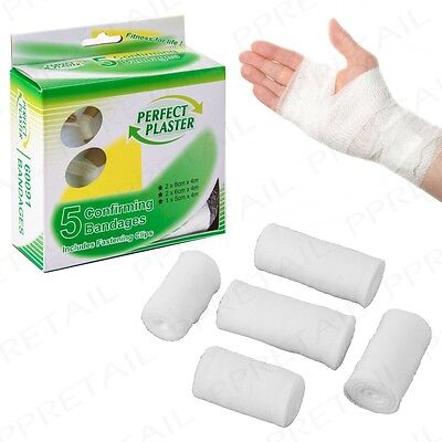 20M STERILE SUPPORT BANDAGES FIrst Aid Knee/Leg/Arm/Elbow Cuts/Sprains Gauze