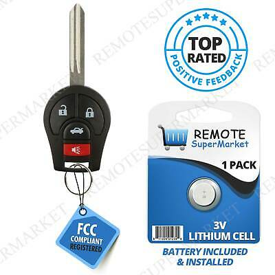 Replacement for 2013 2014 2015 2016 Nissan Sentra Remote Car Keyless Key Fob