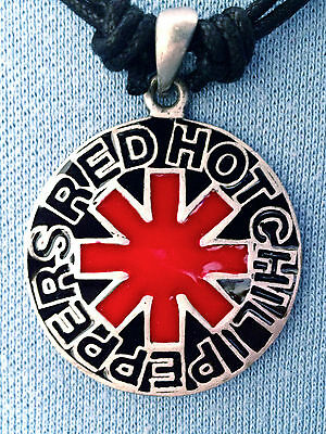 Red Hot Chili Peppers Pendant Mens Boys Girls Necklace   Bp076