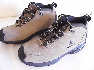 Mens Converse Steel Toe Work/hiker Suede Leather Boots