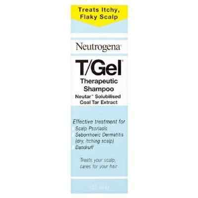 Neutrogena T/Gel Therapeutic Shampoo Treatment for Scalp Psoriasis, Itching Scal