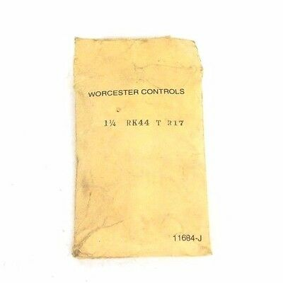 Nib Worcester Controls 1 1/4 Rk44 T R17 Repair Kit Rk44-T-R17