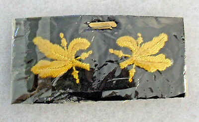 Theater Made Pr Naval Supply Officer Wwii Gold On Black Insignia Cord Like Emb