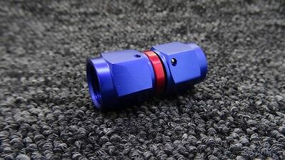 AN-6 AN6 JIC STRAIGHT Swivel FEMALE COUPLER UNION Braided Hose Fitting Adapter