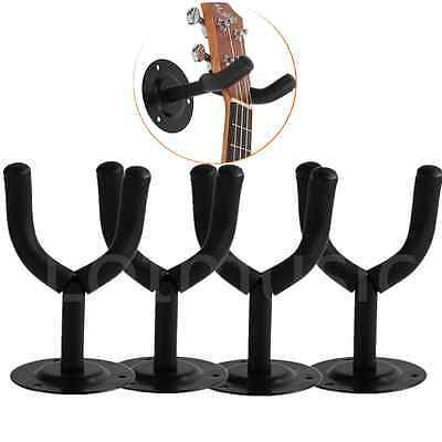 Kmise Acoustic Guitar Hook Hanger Holder Wall Mount Stand Rack for Bass Electric