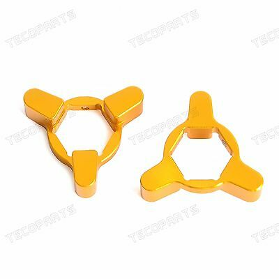 14MM CNC Fork Preload Adjusters for Suzuki GSXR 1000 2001-2008 SV1000 2003-2007