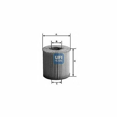 UFI Oil Filter Genuine OE Quality Service Replacement Part