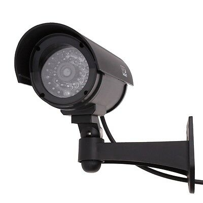 Real CCTV LED lights Wireless IR Surveillance In/Outdoor Dummy Security Camera
