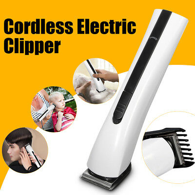 Men's Cordless Rechargeable Hair Clipper Beard Trimmer Shaver Grooming Kit AU