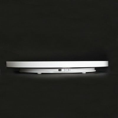 White Ultra-thin 3D Photo Shop  Rotating Turntable 360° Mannequin Display Stand