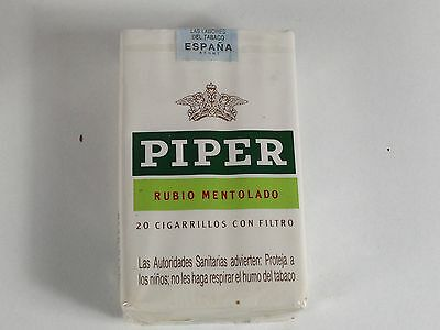 Paquet Cigare Piper Tobacco  Ancien Pack Tabac