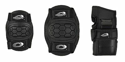Boys Girls Childs Osprey Skate Cycle Knee, Elbow, Wrist Protection Pads Set Smal