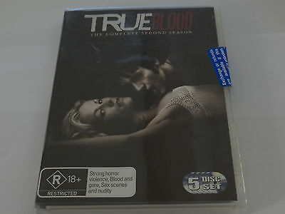 True Blood Complete Second Season Dvd *brand New And Sealed*