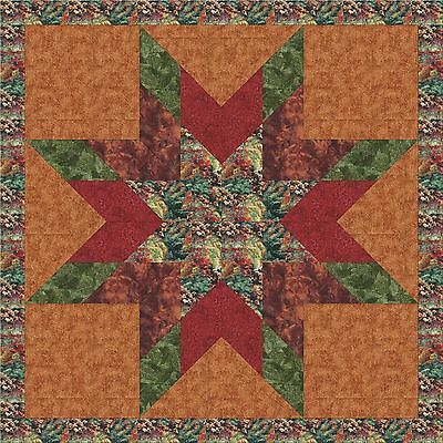 Autumn Trees QUILT TOP - Not Quilted, Machine Pieced