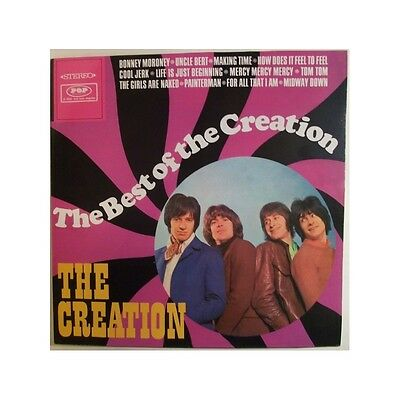LP - The Creation - The Best Of - Re, UK 60s Freakbeat, Mod, Who, Small Faces