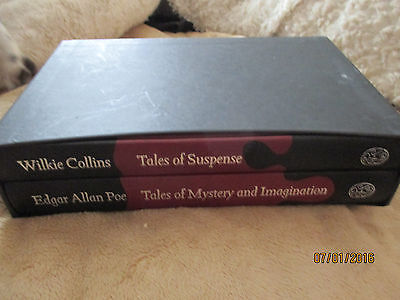 Tales of Mystery and Imagination; Tales of Suspense (Folio Society)